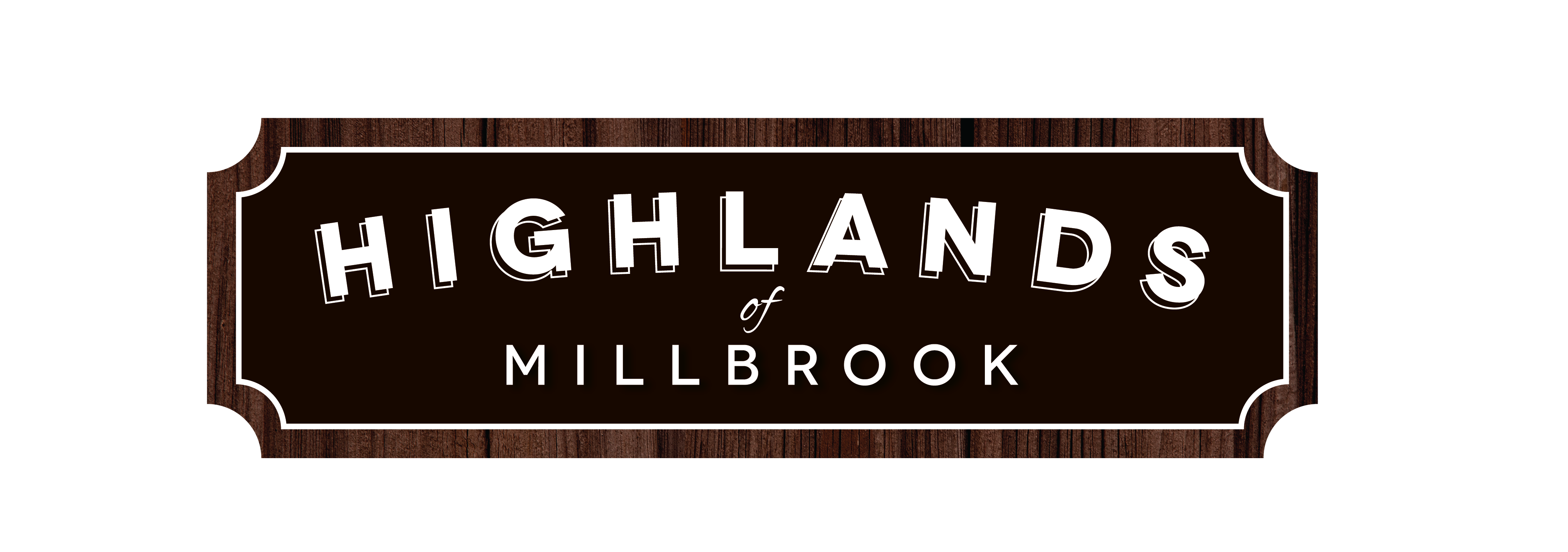 Highlands of Millbrook logo_woodBorder